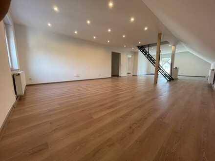 Erstbezug nach Sanierung: attraktive 5Z Maisonette-Wohnung mit Garten und Balkon