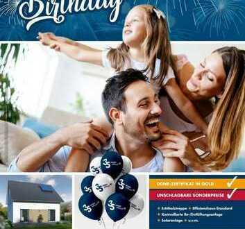 """35 Jahre allkauf Haus unser Geburtstagsangebot """"Happy"""" Info unter 0172-9547327"""