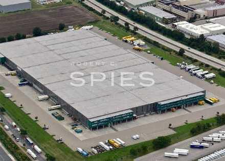 Modernes Logistikzentrum am Flughafen Hannover in Langenhagen