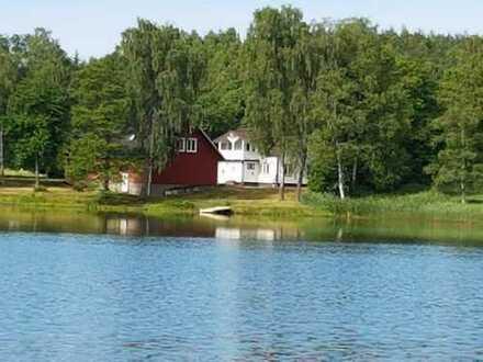 Haus am See in Südschweden