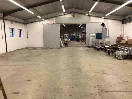 Lager-/ Produktionshalle in Südlohn 900 QM ( auch teilbar) zu vermieten