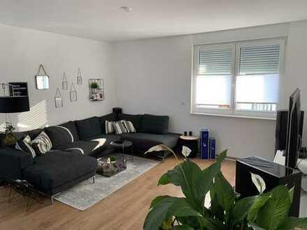 Neubau: 2 Zimmer, Balkon, EBK, TG, 68 qm - 1.200 warm