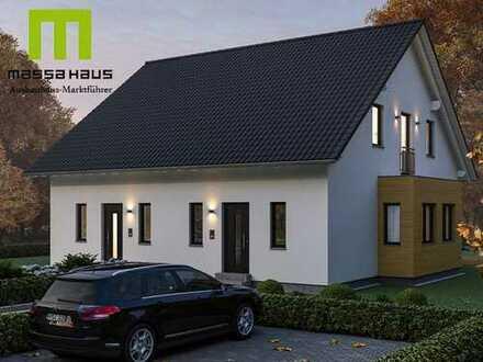 Bauen Sie sich Ihre Doppelhaushälfte mit dem Ausbauhausmarktführer