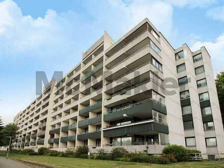 Vermietet, gepflegt, stilvoll, ruhig: 1-Zi.-Apartment mit Süd-Loggia und Pkw-Stellplatz in Bemerode