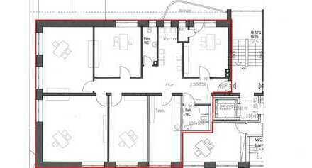 Ca. 180 m² barrierefreie, nach Ihren Wünschen gestaltbare Neubau-Praxis-/Büroflächen an der B1!