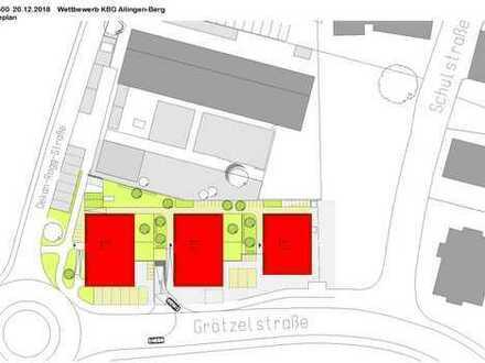 Projektierter Neubau Wohn- und Geschäftshaus in Friedrichhafen-Ailingen