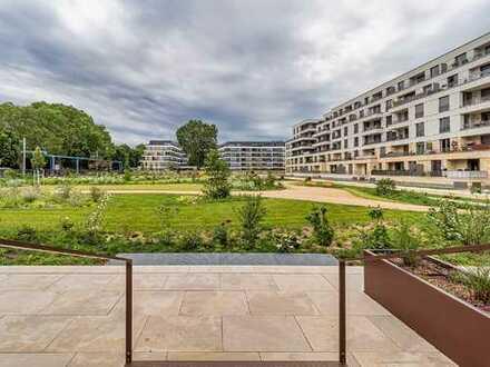 KURFÜRSTLICHE ORANGERIE - Aparte Terrassenwohnung am Herzogin Garten! Ihr neues Wohnjuwel!
