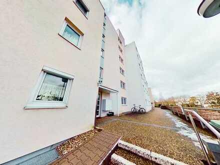 Freundlich Helle 4-Zimmer-Wohnung mit Balkon