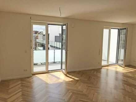 Erstbezug: ansprechende 2-Zimmer-Wohnung mit Balkon zentral in Braunschweig