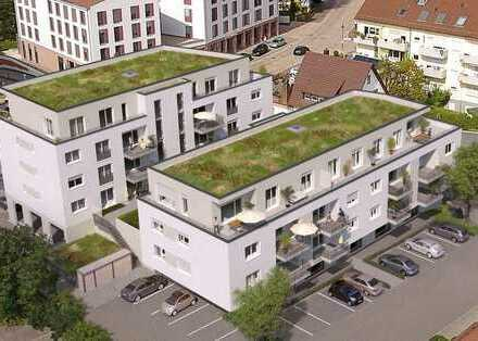 Außergewöhnliche Penthouse-Wohnung auf 161 m²   Neubauvorhaben Gundelfinger Zentrum