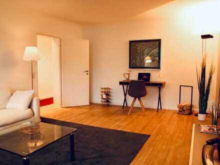 Möbliert! Renovierte helle 2-Zimmer Wohnung mit Blick auf Biebricher Wasserturm