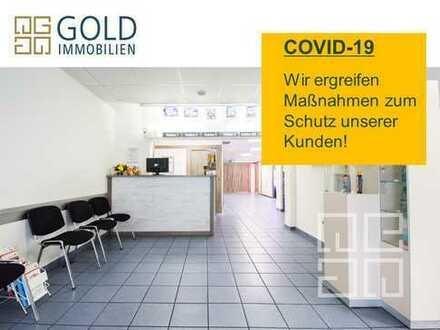 GOLD IMMOBILIEN: Gepflegte Gewerbeeinheit in der Hanauer Innenstadt (inkl. 3 Garagen)