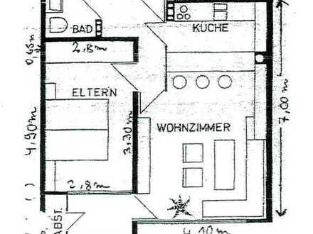Gut vermietete 2-Zimmer-Wohnung in Schwäbisch Gmünd-Wetzgau zu verkaufen!