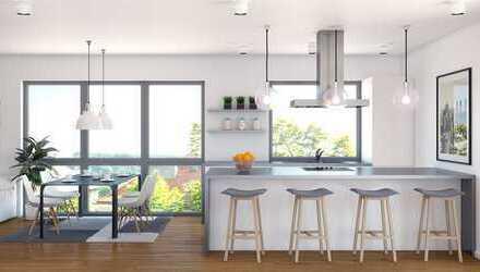 4-Zimmer Maisonette-Wohnung mit Dachterrasse und Garten