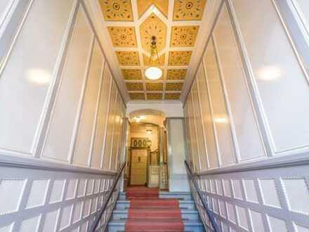Über 90 m², 3 Zimmer, Balkon und Gartenanteil im Friedenauer Altbau