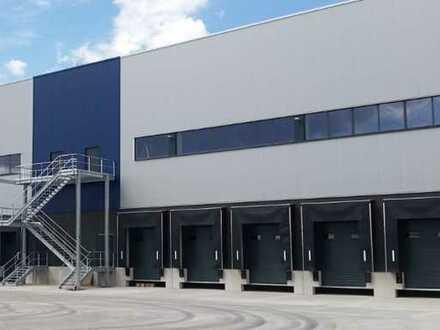 """BAUMÜLLER & CO."" - ca. 10.000 m² NEUBAU-Logistikfläche - Nähe A 65 - Rampen- /ebenerdige Andienung"