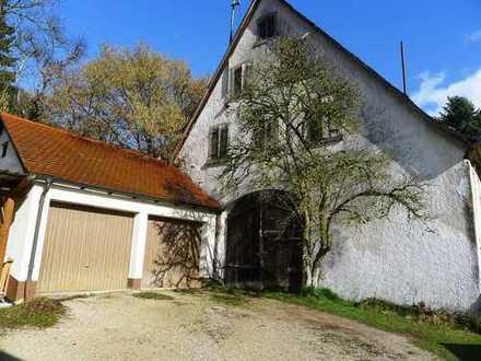 Top-Baugrundstück mit Scheune in zentraler und ruhiger Lage von Hohenstadt!