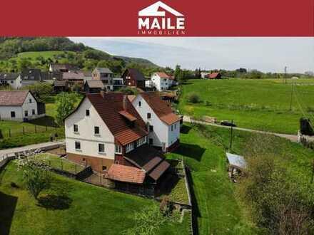 Sonniges Einfamilienhaus in Aussichtslage mit Potenzial