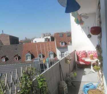 Schöne, helle 3 Zimmer Wohnung mit 2 Balkonen in Karlsruhe