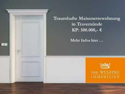 Traumhafte Maisonettewohnung in ruhiger Lage von Travemünde...