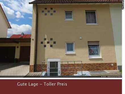 Angenehmes Wohnen - Gepflegte Doppelhaushälfte in Crailsheim