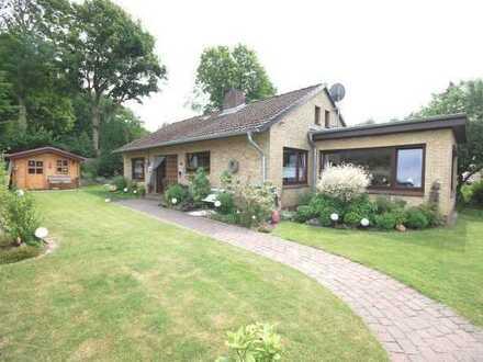 Verkauf eines gepflegten Einfamilienhauses in ruhiger Sackgassenlage am Dorfrand von Meldorf