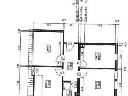 von privat, sehr gute Innenstadtlage, Dachterrasse, 3 Zimmer Wohnung mit 83,27 qm Wohnfläche