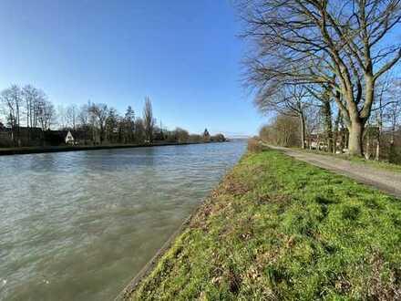 Böttger bietet: Großzügig geschnittene, helle 3-Zimmerwohnung direkt am Mittellandkanal