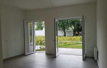 Erstbezug: Komfort, Terrasse & Gartenanteil