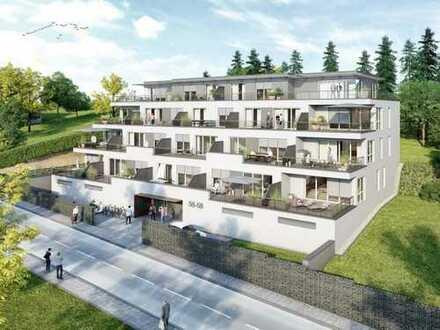 Moderne Eigentumswohnung in einem Terrassenhaus mit schönem Blick über Zweibrücken
