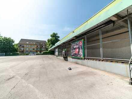 Flexibel anmietbare Hallen ab 6.556 m², ebenerdige Anlieferung + Rampentore!