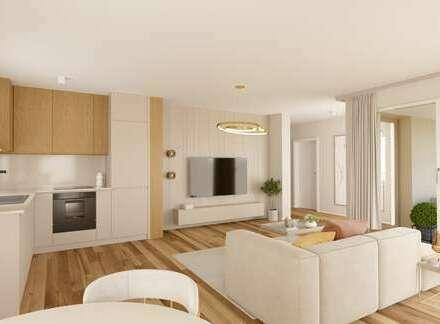 Große 2-Zimmerwohnung mit hochwertiger Ausstattung und Loggia