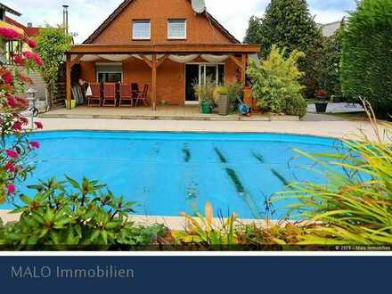Genieße den Sommer in Waggum mit Pool