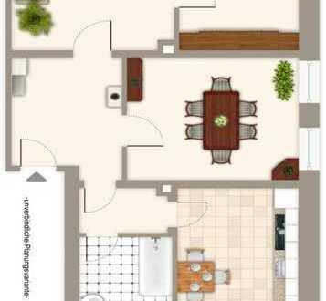 Schicke 3 Zimmer-Eigentumswohnung mit Balkon und Gartennutzung im östlichen Ringgebiet.