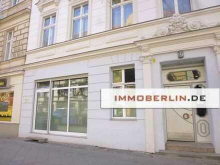 IMMOBERLIN: DERZEIT VERMIETETES LADENLOKAL IN ETABLIERTER LAGE
