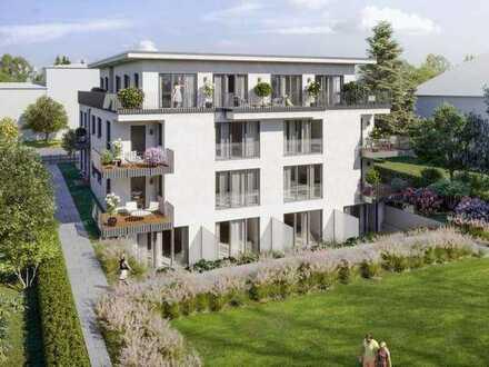 Erstbezug: exklusive 2-Zimmer-Wohnung mit EBK und Balkon in Darmstadt