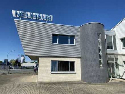 Gewerbehalle mit Bürogebäude in zentraler Lage von AR-Hüsten zu verkaufen