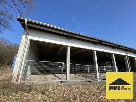 Lagerhalle 200m² - auch erweiterbar mit Rolltoren in Schlüchtern
