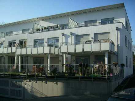 Neuwertige Penthouse-Wohnung mit großer Dachterrasse mit Blick in den Garten