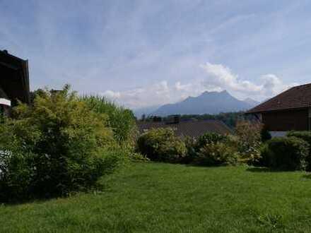 Großes Haus mit Einliegerwohnung in bester Wohnlage von Brannenburg und herrlichem Bergblick