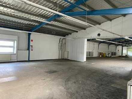 Produktionshalle / Lagerhalle beheizbar, renoviert in Top Lage mitten in Oeynhausen