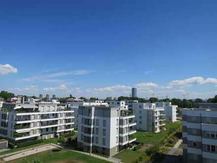 Penthouse-Wohnung mit zwei Dachterrassen - 4 Zi, 132 qm und EBK