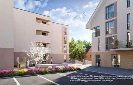 Exklusive Neubauwohnung in begehrter Lage - Parkettboden, TG-Stellplatz, Aufzug - in Kernen