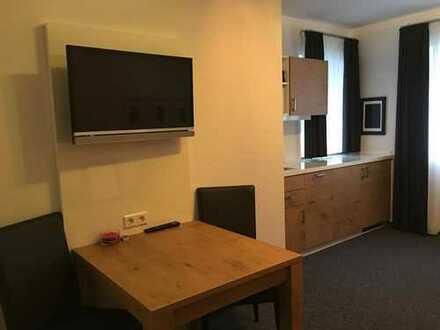 Komplett möbelierte *neuwertige* 2- Zimmer Wohnung in zentraler Lage in Biberach