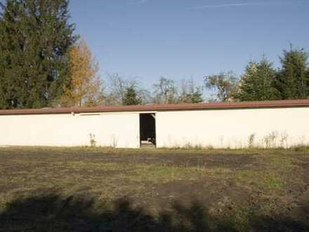 Kleine Lagerhalle in ländlicher Umgebung!