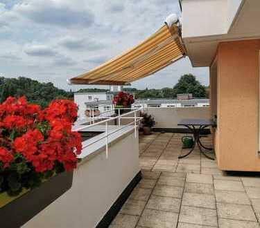 Herne-Eickel! Sehr schönes 2,5 Raum-Penthouse mit großer Terrasse und modernem Bad