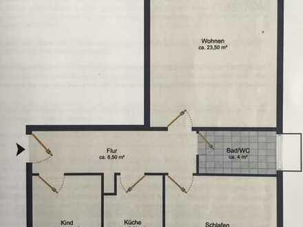 Exklusive, sanierte 3-Zimmer-EG-Wohnung (auch WG) mit Balkon in Braunschweig