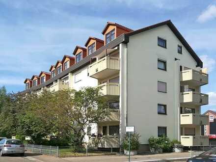 Vermietete 1-Zimmer-Wohnung in Randlage von Leimen