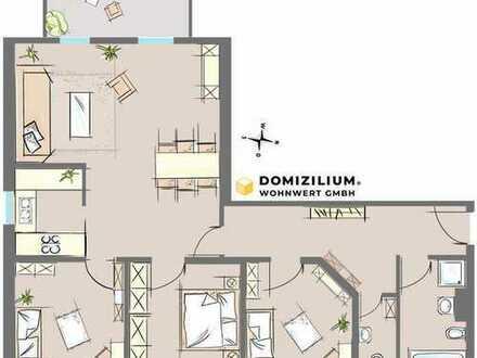 Helle und top geschnittene Wohnung zur gewerblichen Nutzung