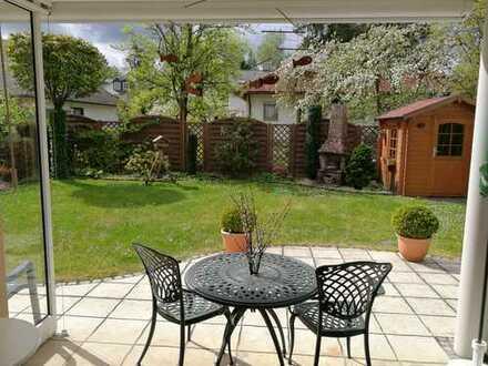 Sonnige Gartenwohnung mit 3 Zimmern zuzüglich 2 taghellen Hobbyräumen